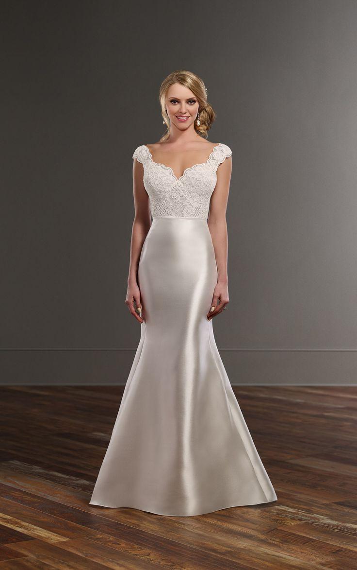 Illusion lace silk skirt wedding separates martina liana