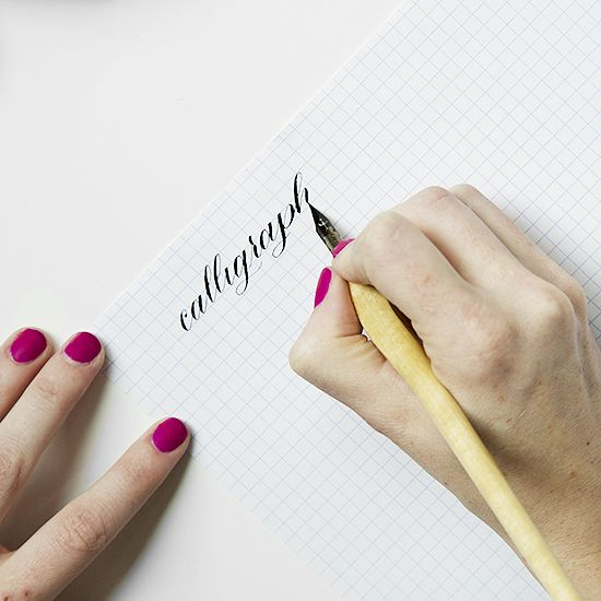 Online Calligraphy Course {list of supplies & link to purchase also}