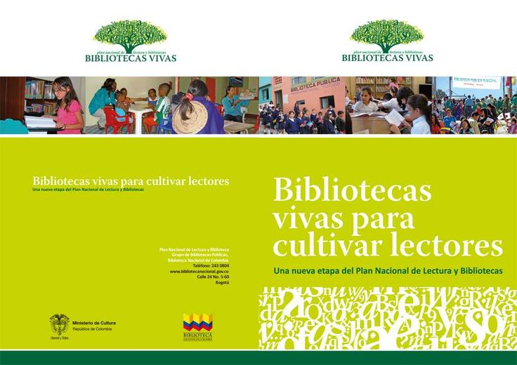 Brochure Bibliotecas Vivas (2009)