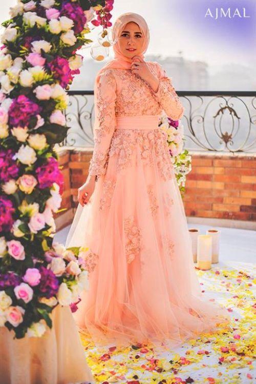 Beautiful hijab evening dresses – Just Trendy Girls