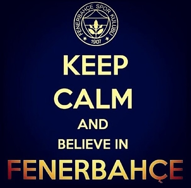 <3 Fenerbahçe This is where I live!!