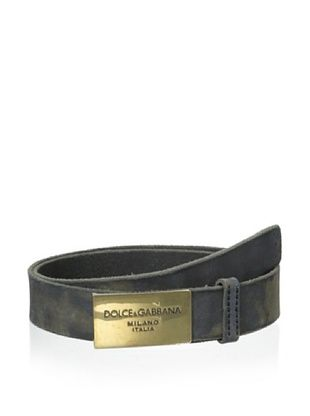 51% OFF Dolce & Gabbana Men's Belt (Black)