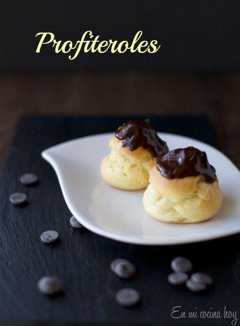 Profiteroles, Bombitas con crema pastelera | En mi cocina hoy
