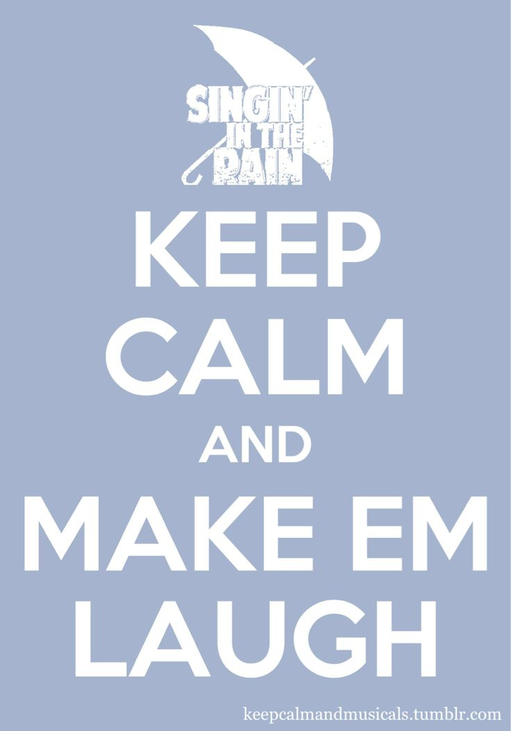 make em laugh Lyrics to make 'em laugh by donald o'connor from the singin' in the rain [original soundtrack] album - including song video, artist biography, translations and more.