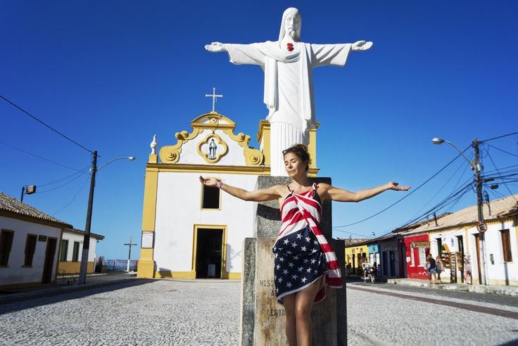 Arraial da Ajuda. Porto Seguro Brazil