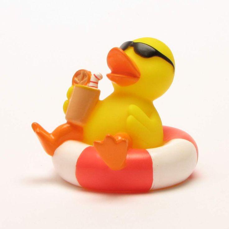 Badeente Schwimmreif - Rubber Duck