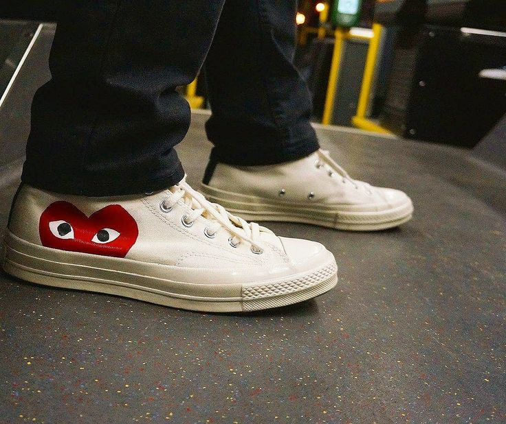 Daily Beaters - CDG Converse | Cdg converse. White sneaker. Fashion