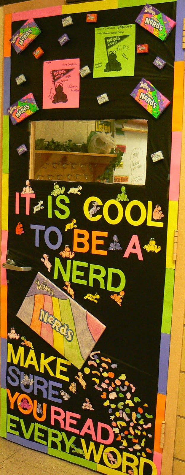 Bonham Business: A Candy Themed, Classroom Door Decorating Contest