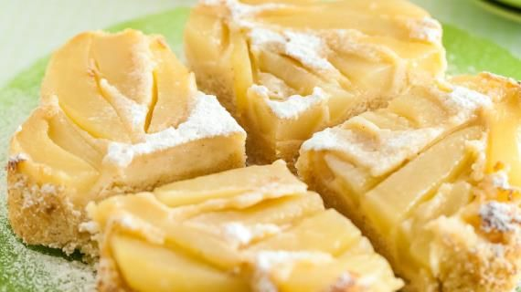 Заливной грушевый пирог. Пошаговый рецепт с фото на Gastronom.ru