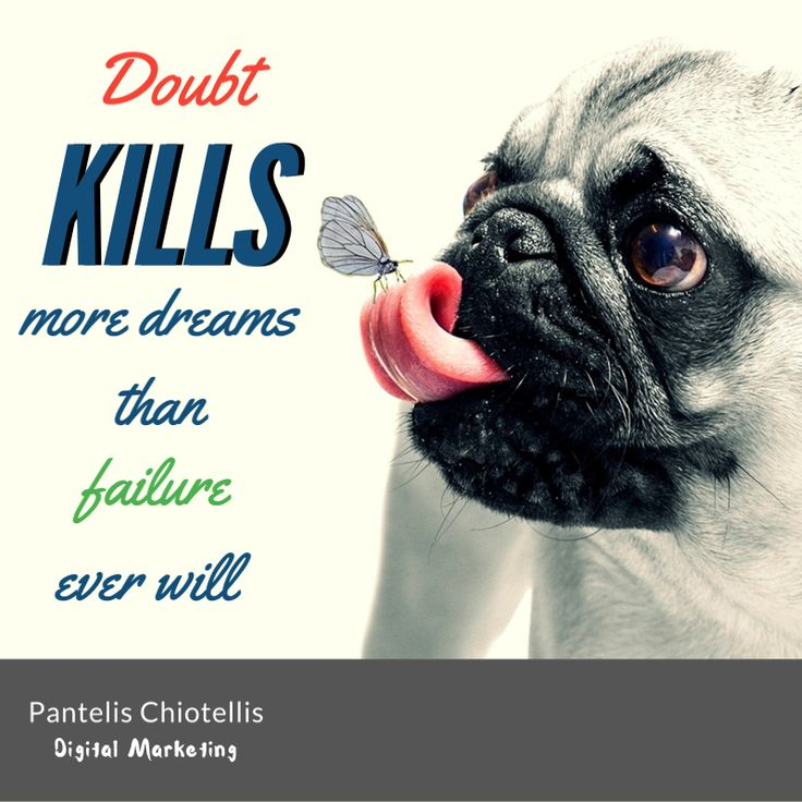 Doubt kills more dreams than failure ever will. #quote #quotes #motivation #inspire #αποφθέγματα
