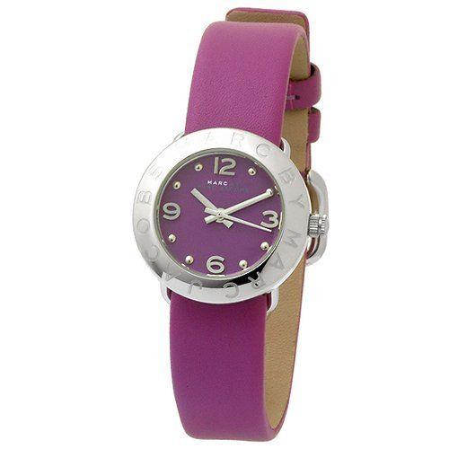 Marc Jacobs Amy Leather Belt Quartz Purple Women's Watch MBM8554 Marc by Marc Jacobs. Save 9 Off!. $113.98