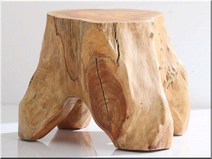 Kis rönk asztal