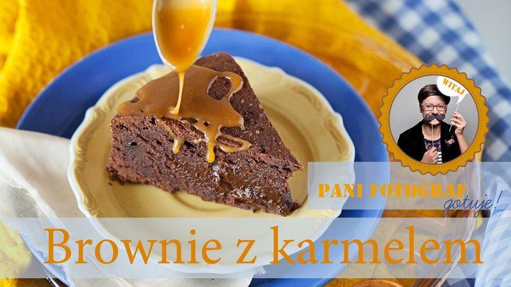 Ciasto brownie z karmelem przepis