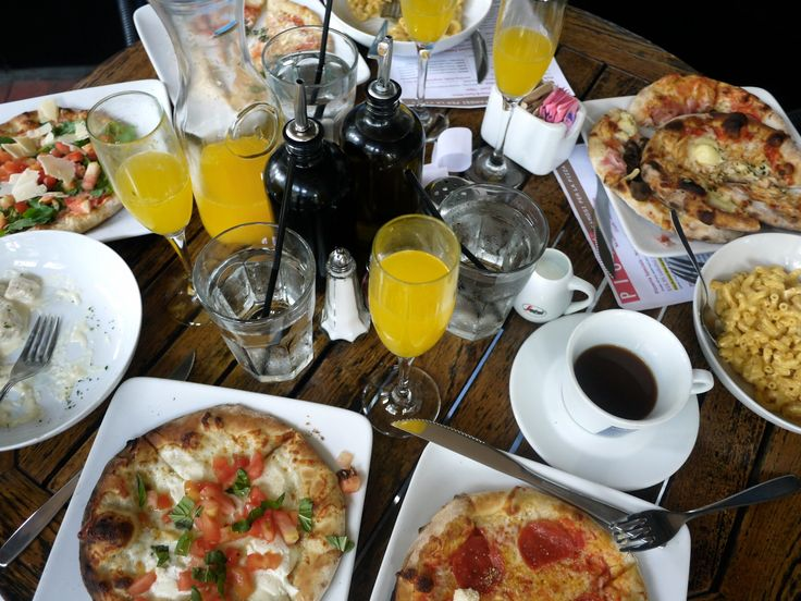 bottomless pizza & pasta brunch at Piola in arlington (rosslyn), virginia! yum - is it the weekend yet? | eleventh floor view