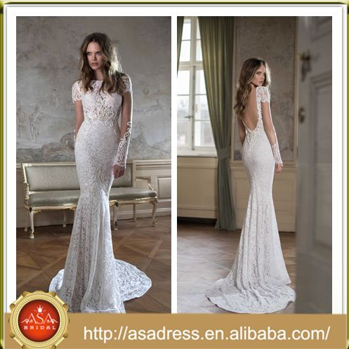 Fbb-03 spezielle charmante log meerjungfrau hochzeit brautkleid perlen perlen durchschauen spitze wieder lange offen Ärmeln hochzeitskleid-Kleidung für die Mutter der Braut-Produkt ID:60355160462-german.alibaba.com