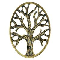 OVAL GOLD TREE OF LIFE SCREEN
