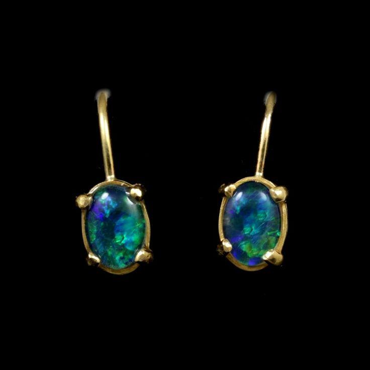 11 besten Opal Earrings Bilder auf Pinterest   Opalohrringe, Blau ...