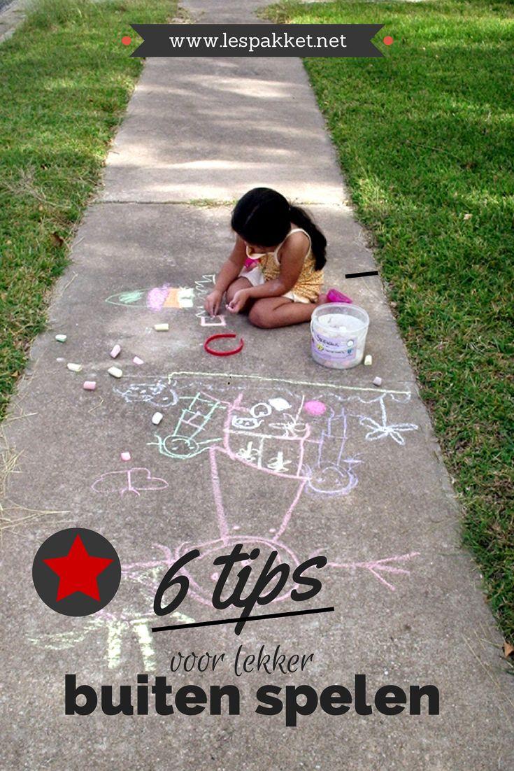 Nationale Straatspeeldag: 6 tips voor lekker buiten spelen - Lespakket