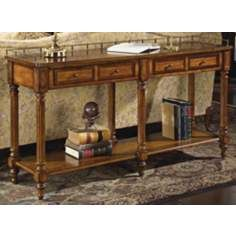 "Umber 32"" High Console Table"