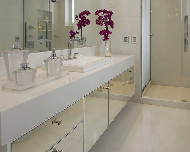 banheiro bancada nanoglass marmoglass