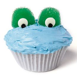 Kid time! Froggy Cupcakes ~from Disney