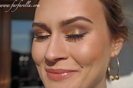 Yılbaşı Makyajı (Altın Tonlarında) – New Year's Makeup with Golds www.farfarella.com