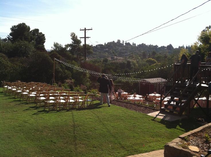 Beautiful Backyard Wedding Ceremony In El Cajon (San Diego), CA. September  2012