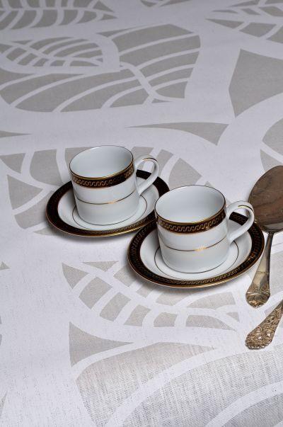 Mairo Hosta table cloth. Designed by Linda Svensson Edevint.