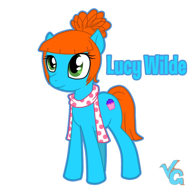 Lucy Wilde - pony version by VanessaGiratina.deviantart.com on @deviantART