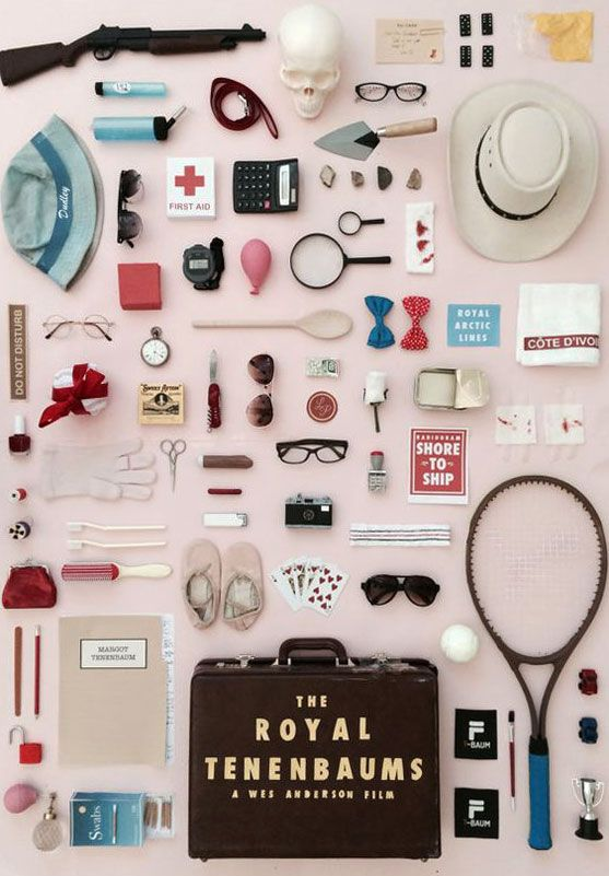 royal tenenbaums themed print via jordan bolton design on etsy. / sfgirlbybay