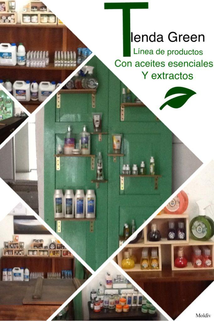 Tienda green , apostamos por una línea de productos naturales de la mano de cadenas productivas, 140 familias cultivadoras de material vegetal aromático.
