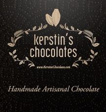 """Testimonial from Kerstin's Chocolates: """"We love the custom pouches that we got from Hey Jute.  They look great and they are versatile too.  We use them for gift bags and for in store promotions.  Our customers appreciate that we care about the environment because we offer a discount for anyone who brings in their jute bag.  We would definitely order form Hey Jute again.  We found them friendly, professional and reliable."""""""