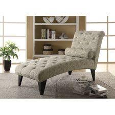 Traditional Chaise Lounge Chairs | Wayfair