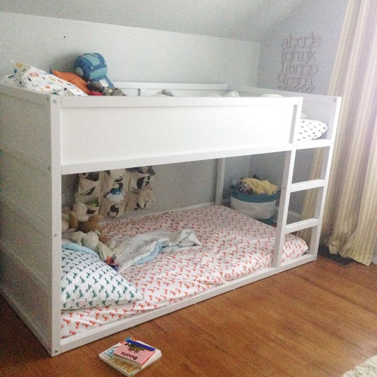 How To Paint The Ikea Kura Bed Kura Bed Pinterest
