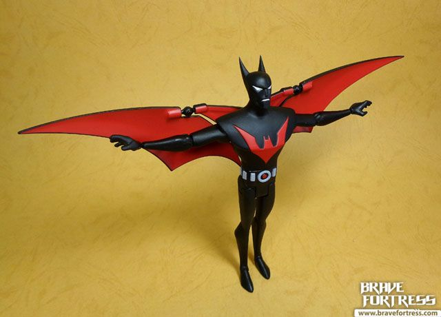 DC Collectibles Batman The Animated Series Batman Beyond with Bruce Wayne and Ace | Brave Fortress
