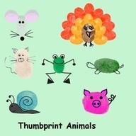 fingerprint animals | Fingerprint animals