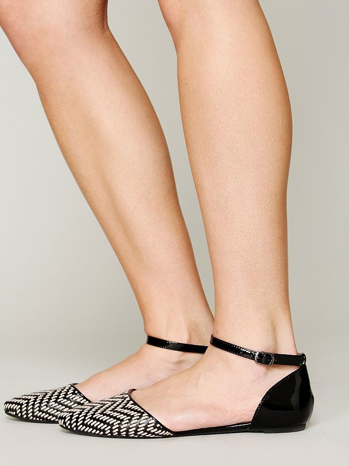 Free People Roulette Woven Flat, $128.00