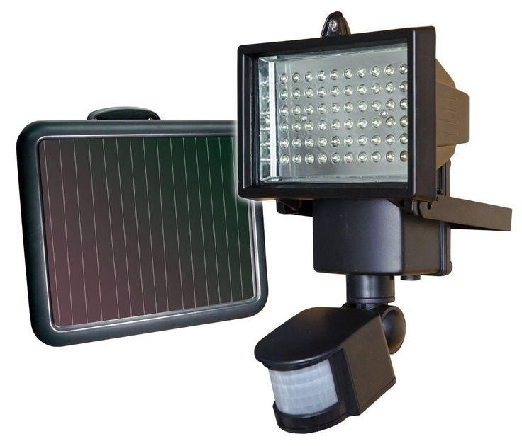 NEW! Security Light with Motion Detector Sensor Solar Power 60 LED Flood Lights