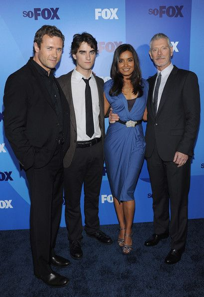 Stephen Lang Photos Photos - Actors Jason O'mara,  Landon Liboiron, Shelley Conn and Stephen Lang attend the 2011 Fox Upfront at Wollman Rink - Central Park on May 16, 2011 in New York City. - 2011 Fox Upfront