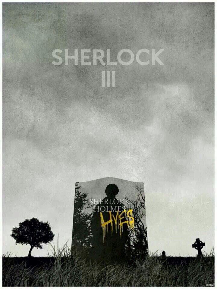 Sherlock season 3!!! Just watched the empty hearse like 4 times already!!!
