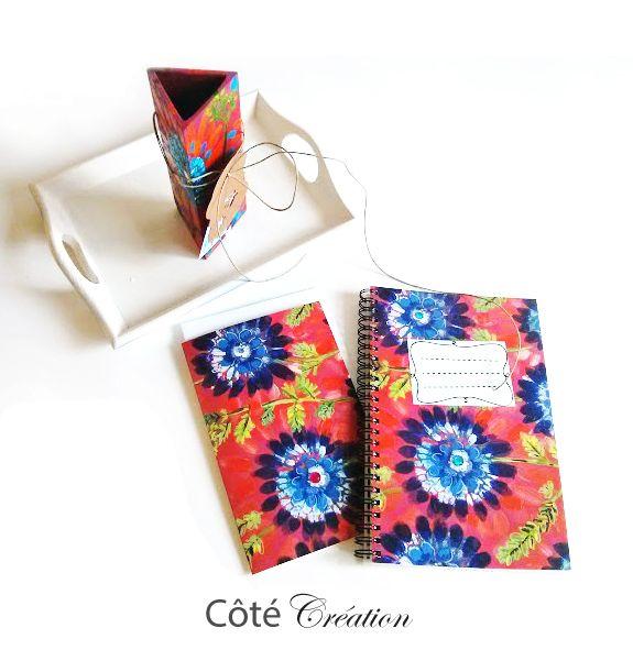 Calpins et porte crayons par Côté Création