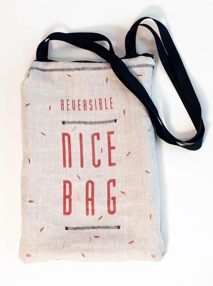 PACKAGING | UQAM: RICE BAG = NICE BAG | Audrey-Claude Roy