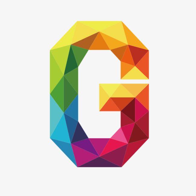 Colorful Letters G Letter Colorful G Png Transparent Clipart