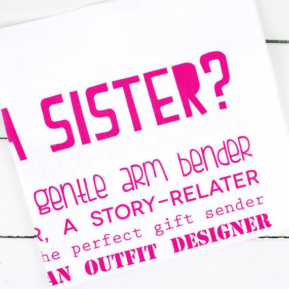 What Is A Sister Poem Tea Towel Sister Gift Poem by bespokeverse on Etsy $14.49