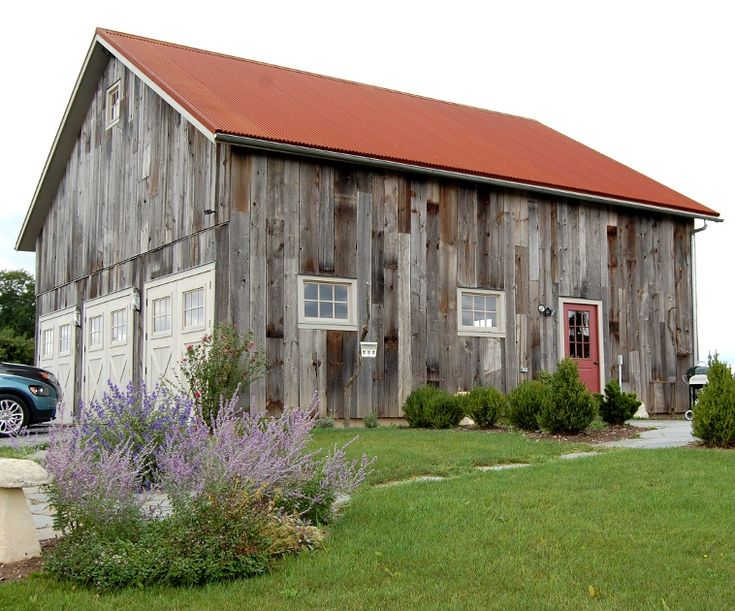 54 best house exterior styles images on pinterest barn for Wood barn homes