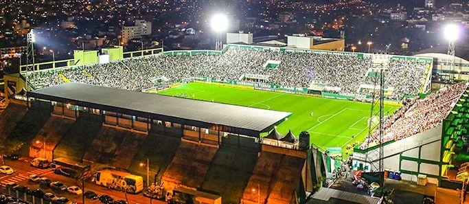 Arena Índio Condá - Chapecó (SC) - Capacidade: 22,8 mil - Clube: Chapecoense