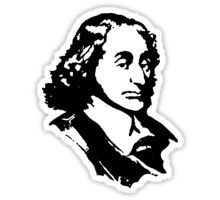 $2.73-$16.37 Sticker Blaise Pascal, #Blaise #Pascal, #French #mathematician, physicist, #inventor, #writer and Catholic theologian, Pascal's #calculators, #Pascalines
