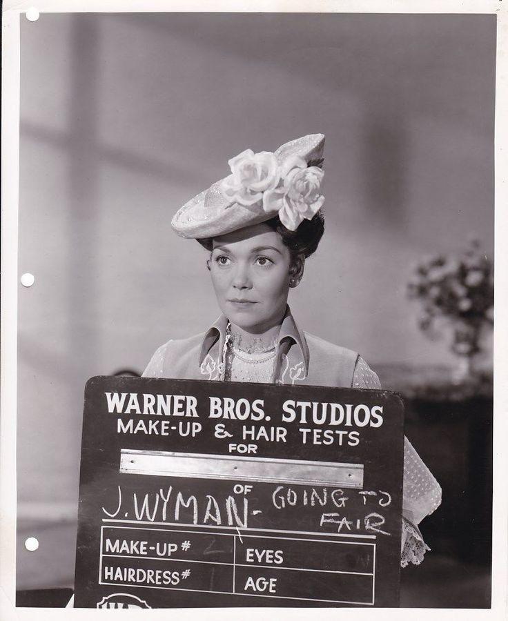 Jane Wyman Make Up Test Portrait Original Vintage The Story of Will Rogers Photo | eBay