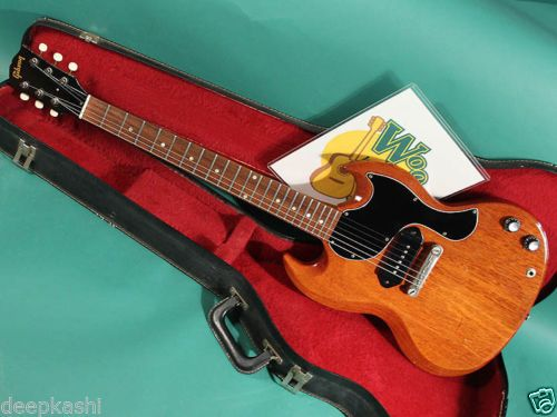GIBSON-SG-JR-CH-1965-EX-W-Paper-soft-shell-case-Electric-guitar
