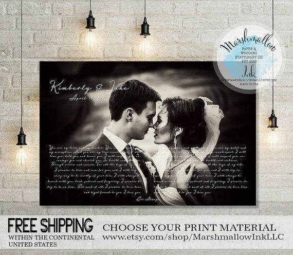 Wedding Vows, Anniversary Gift Wedding Gift Vows Print, Anniversary Gift for Couples, Anniversary Gift for Parents, Wedding Keepsakes Gift